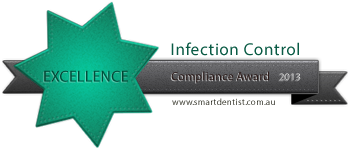 Dental Infection control compliance award for Glenvale dental